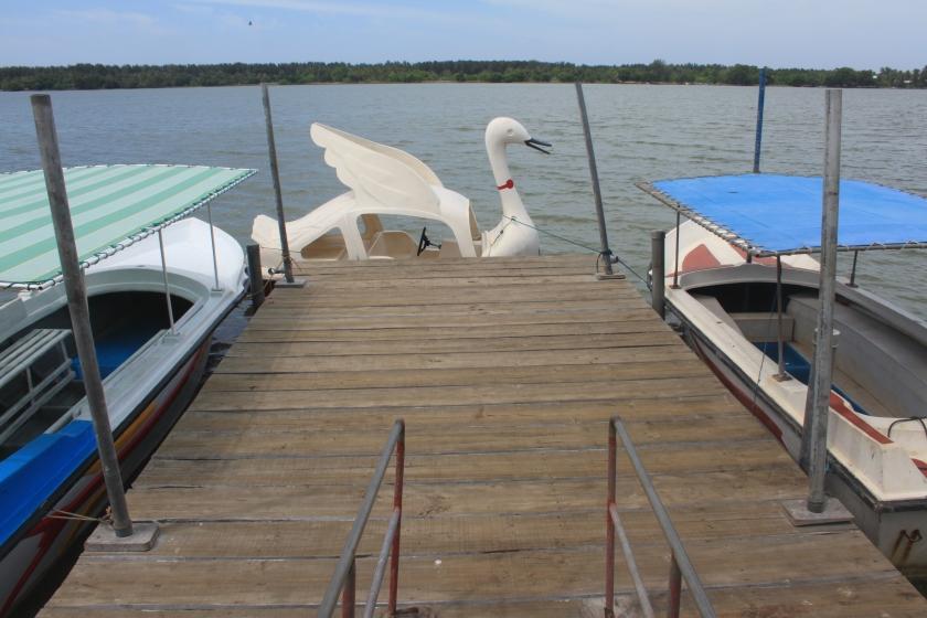 Boat quay, Batticaloa lagoon
