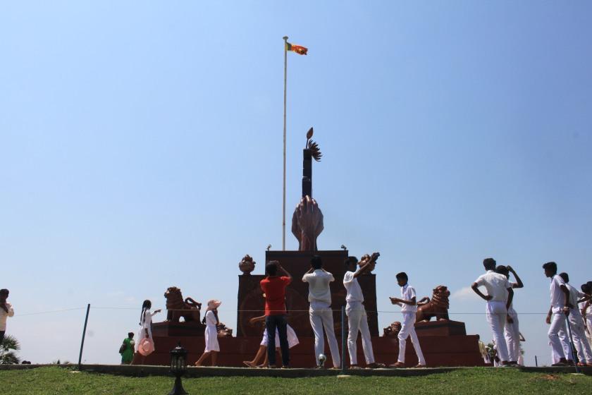Elephant Pass war memorial