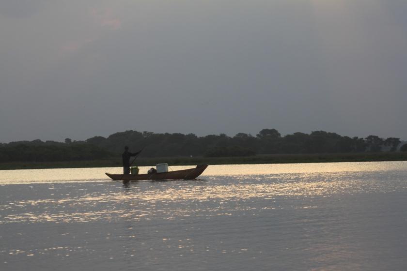 Evening fishing, Pottuvil lagoon