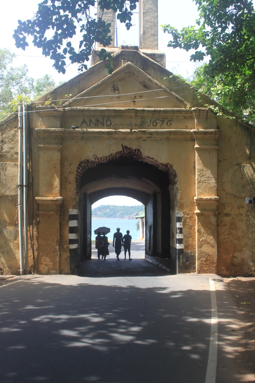 Fort Frederick gate, Trincomalee