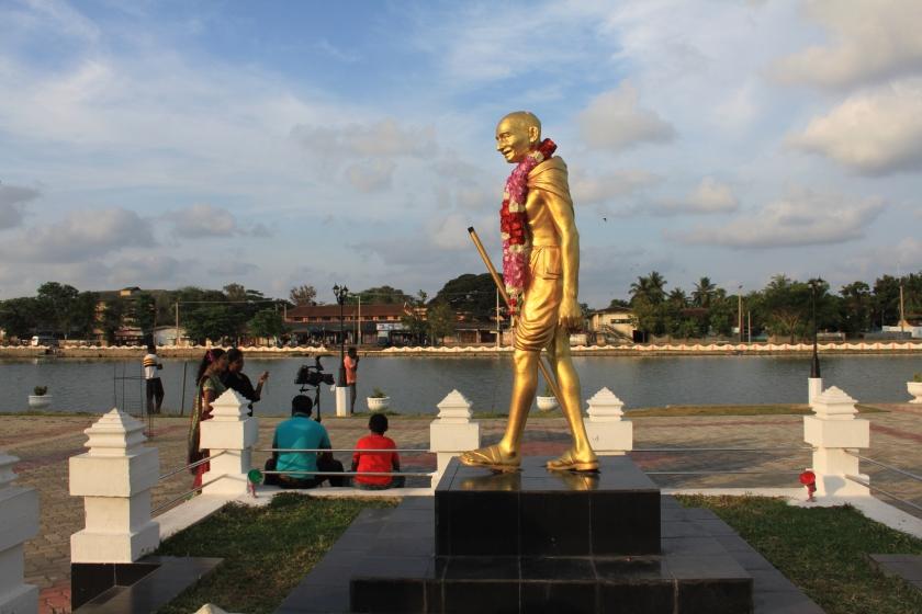 Gandhi statue, Batticaloa