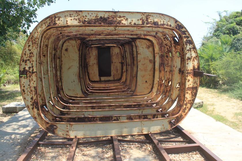 Half built submarine, Sea Tiger museum