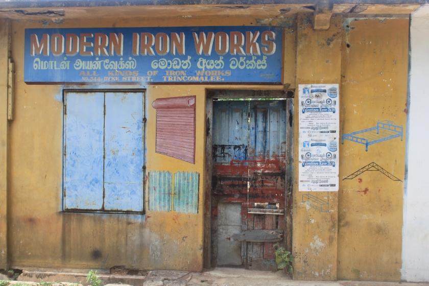 Iron works, Trincomalee