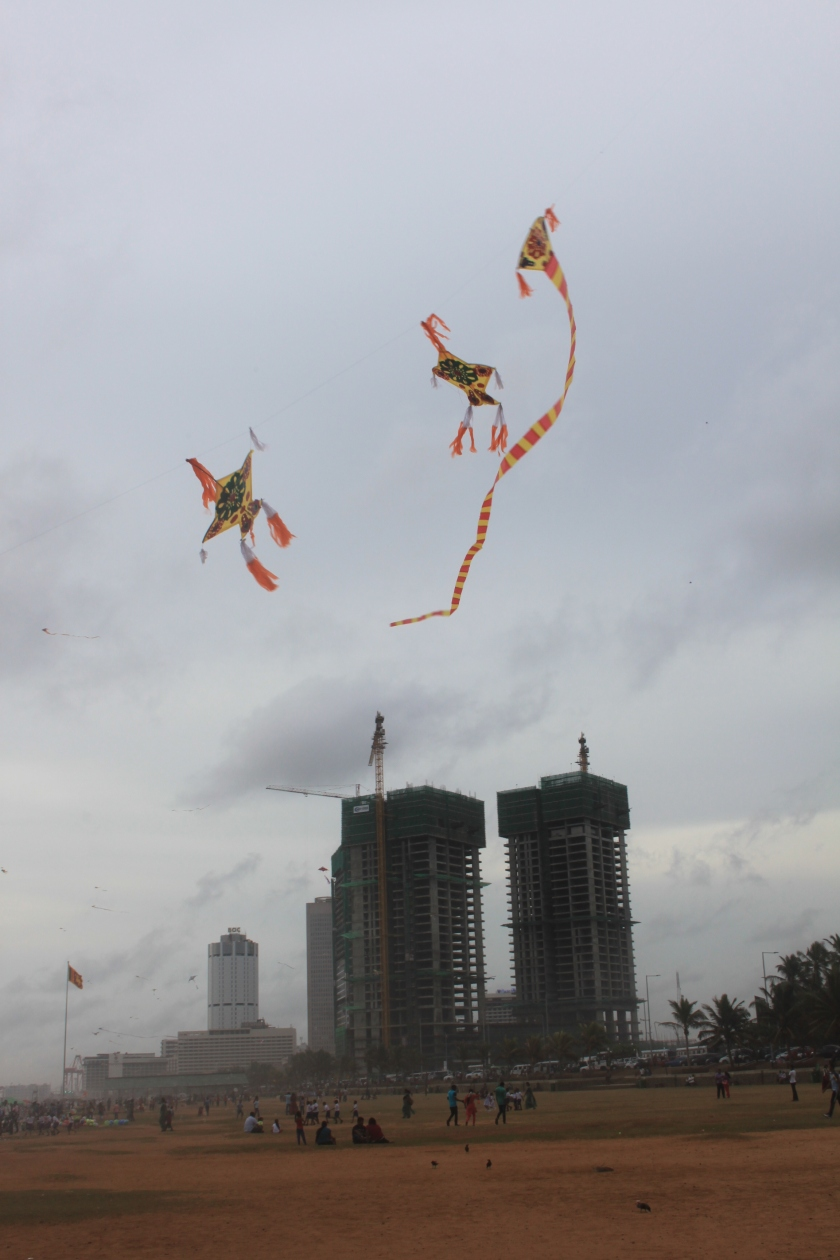 Kites, Galle Face Green, Colombo