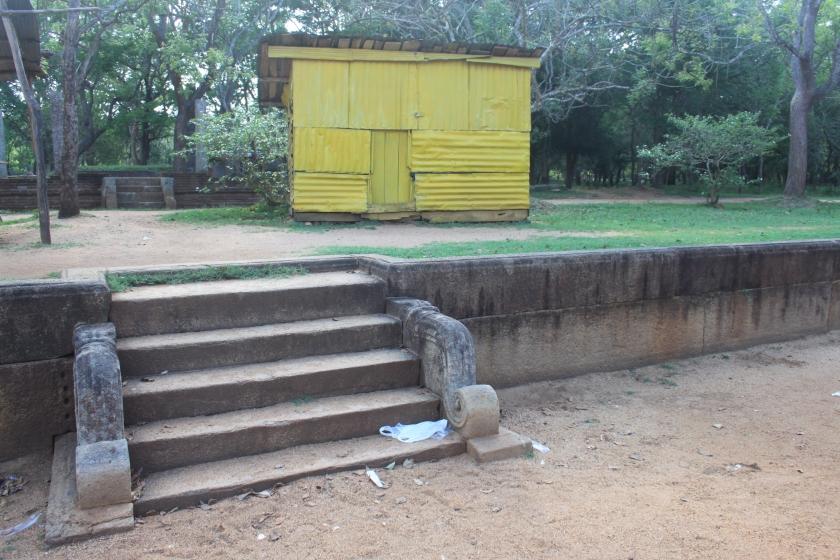Royal bathing pool, Anaradhapura
