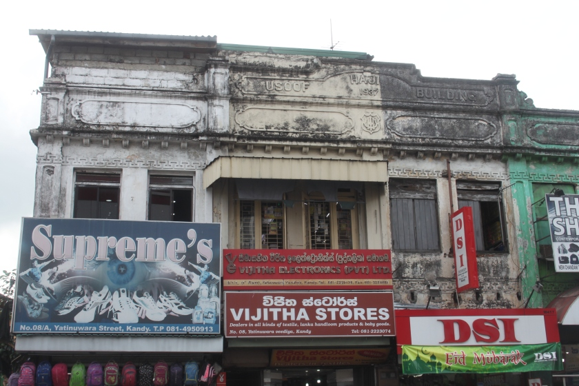 Streetscape, Kandy