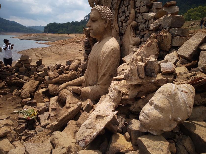 Sunken Buddhist temple, Kotmale -2